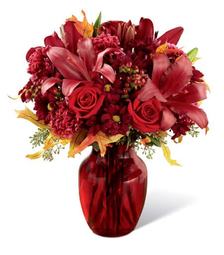 The Autumn Treasures Bouquet